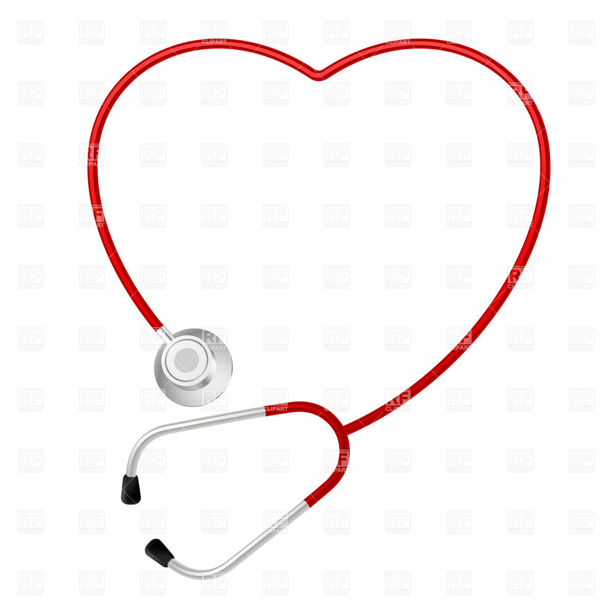 Heart Shaped Stethoscope 8412 Healthcare Medical Download Royalty