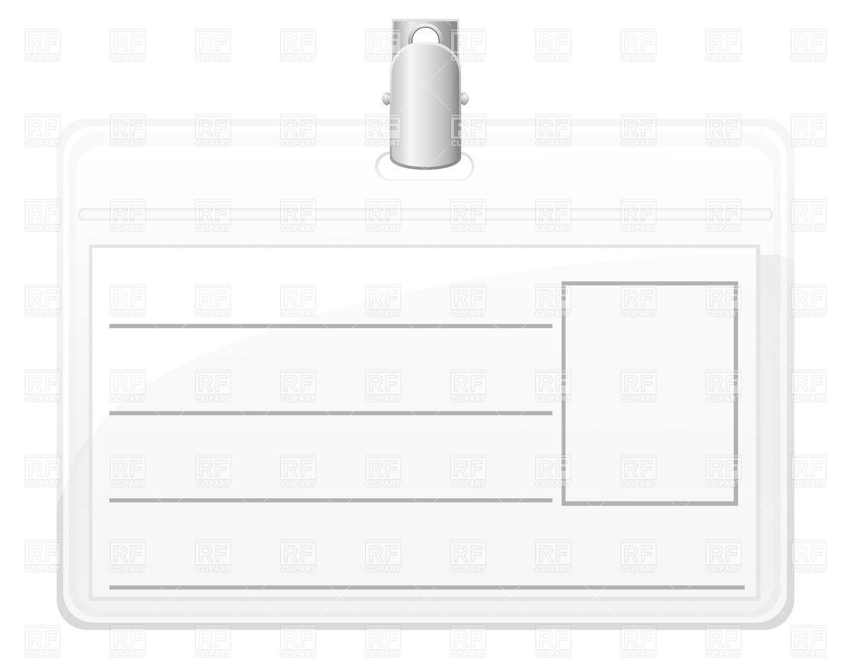 Pin Blank Id Card Temp...