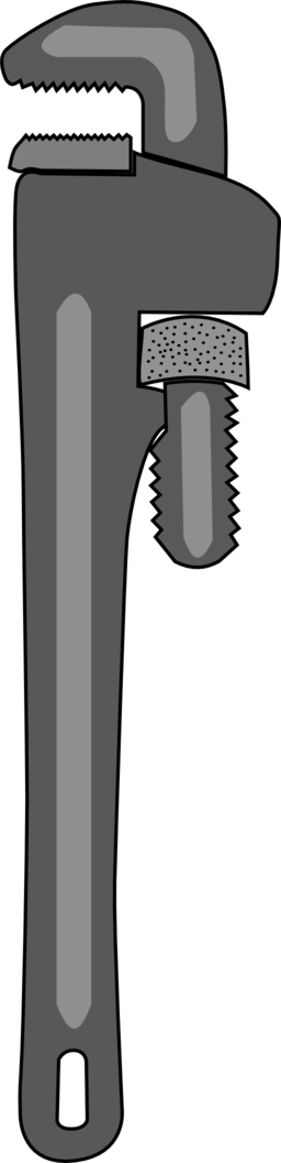 Pipe Wrench Clipart   Royalty Free Public Domain Clipart