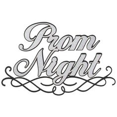 Prom Night Clip Art       Prom Night Laser Die Cut   3 75