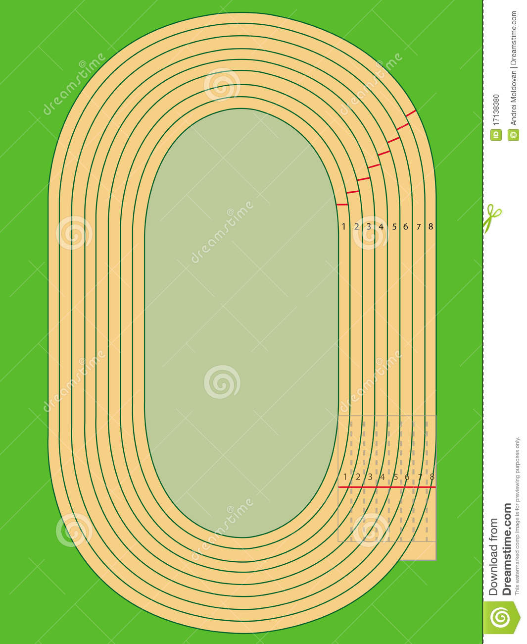 Running Track Clipart - Clipart Kid