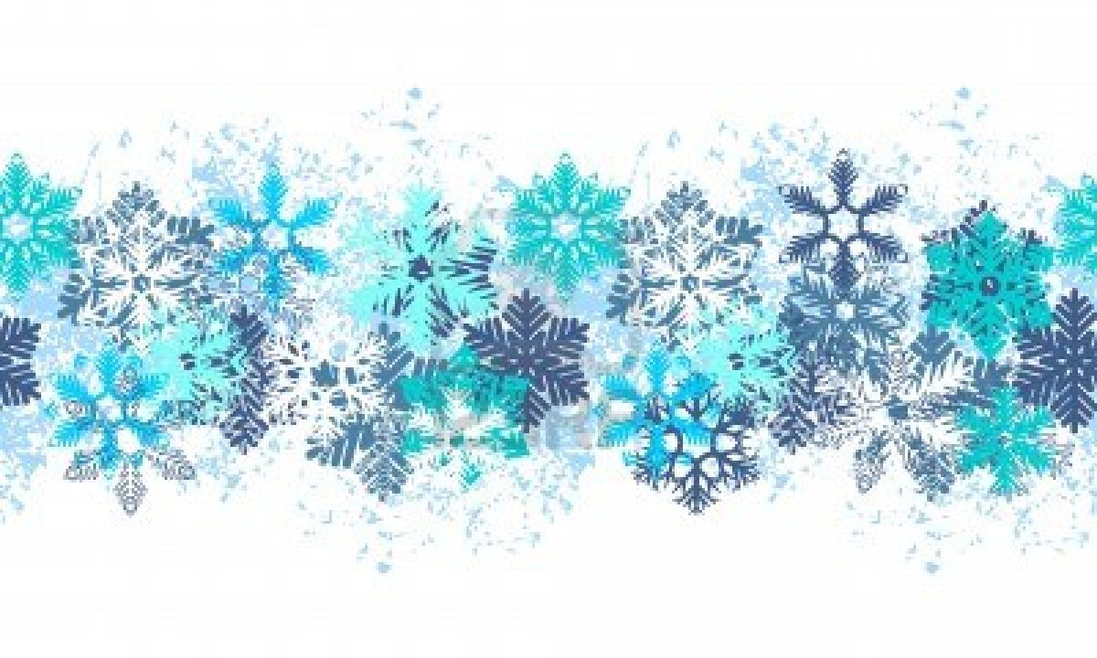 Snowflake Clipart Border Images   Pictures   Becuo