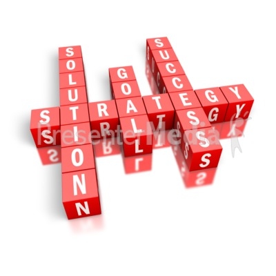 Strategy Success Block Puzzle   Education And School   Great Clipart