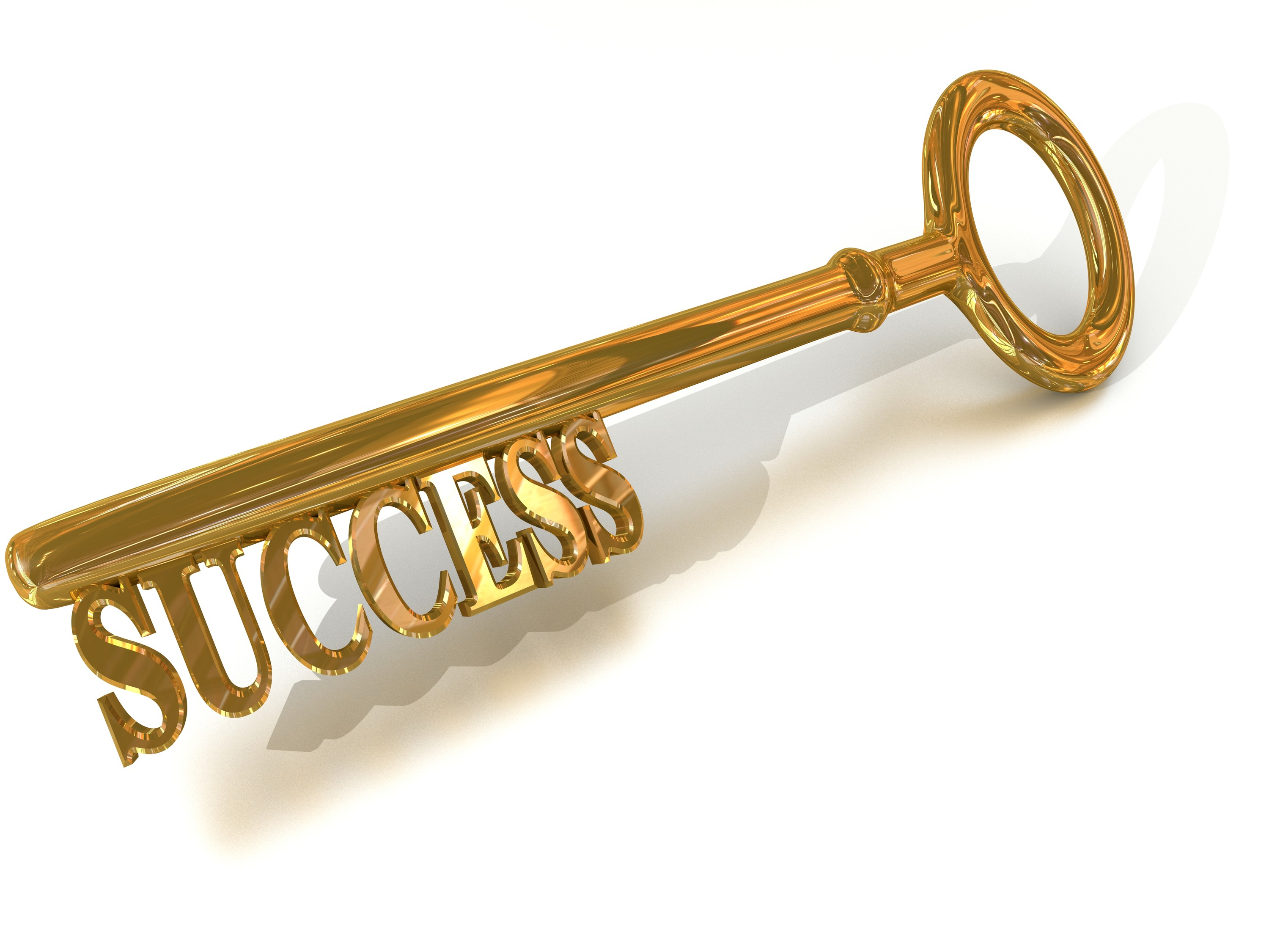 The Golden Key To Success Is You    Inspireasy