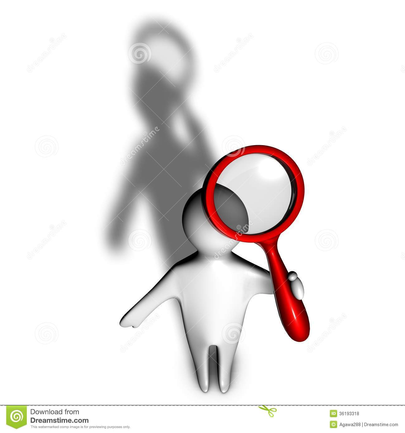 clip art job shadowing clipart clipart kid 3d person shadow seeking informations magnifying glass