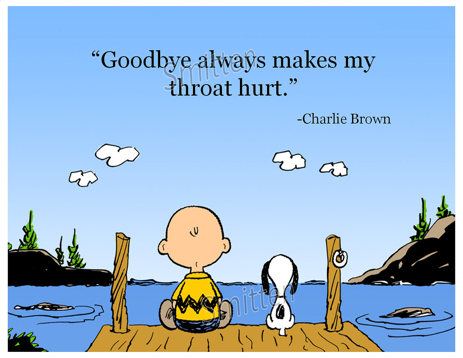 All kinds of goodbyes and why they hurt so much burden lifters