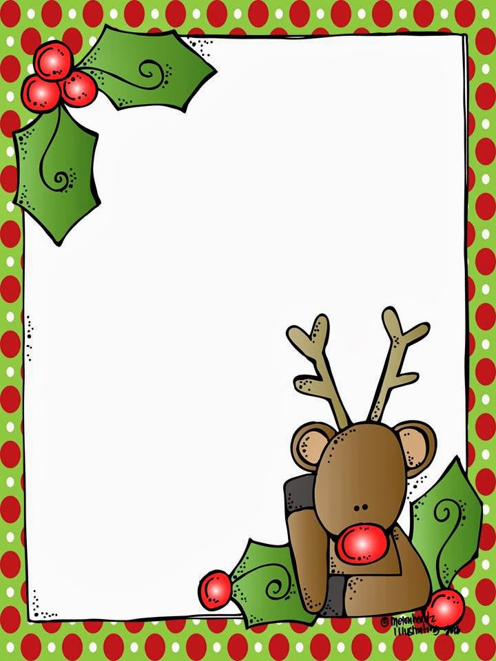 Christmas Borders For Letters Clipart - Clipart Kid