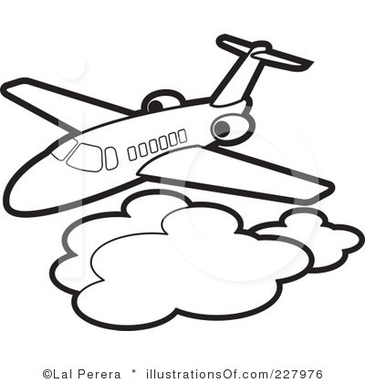 Clip Art Airplane Clipart Black And White black and white airplane clipart kid panda free images