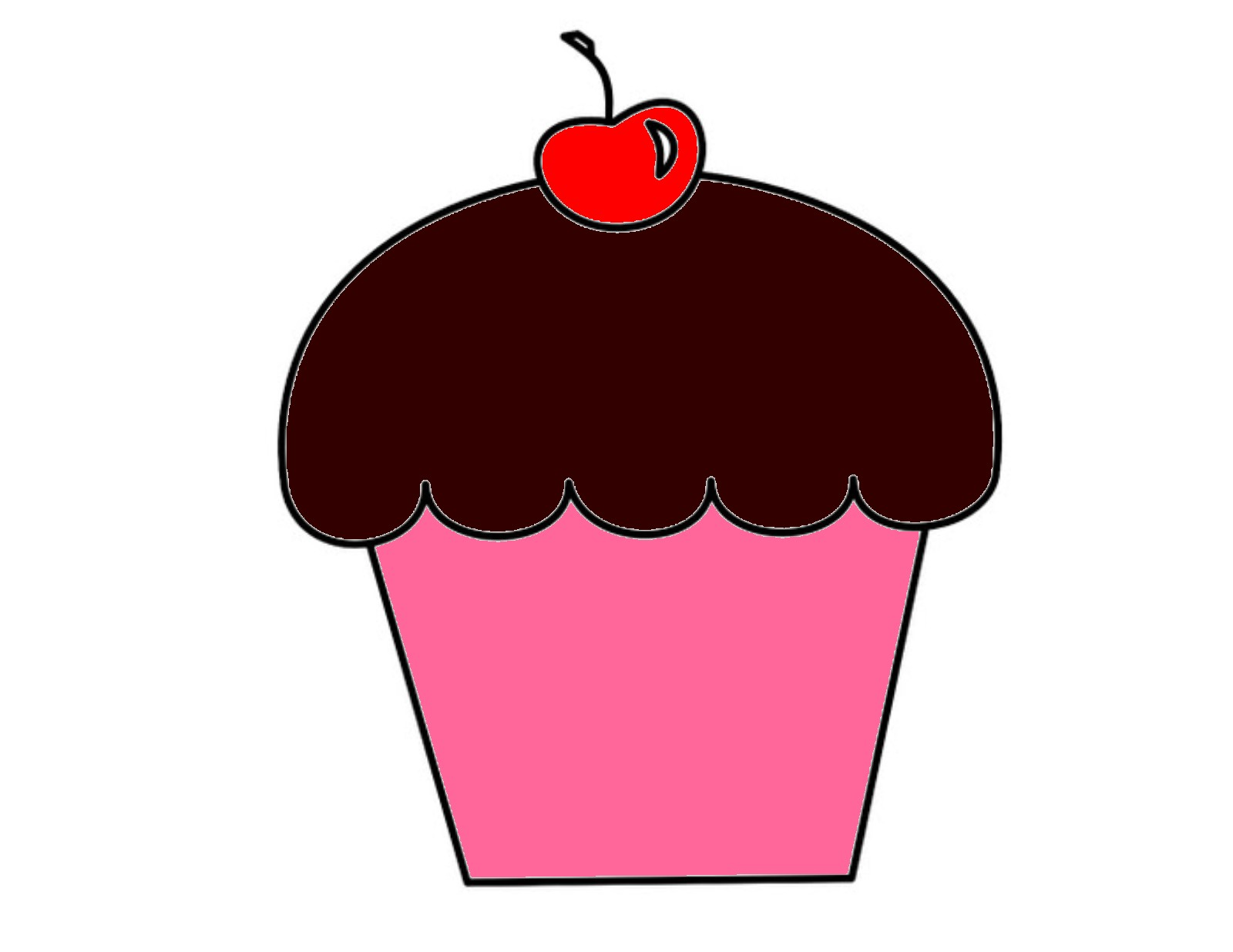 Cupcake   Free Images At Clker Com   Vector Clip Art Online Royalty