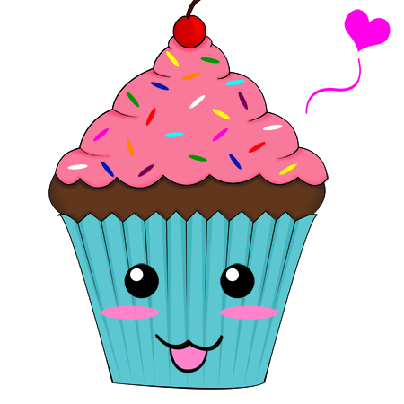 Cute Cupcake By Sukino Chan On Deviantart