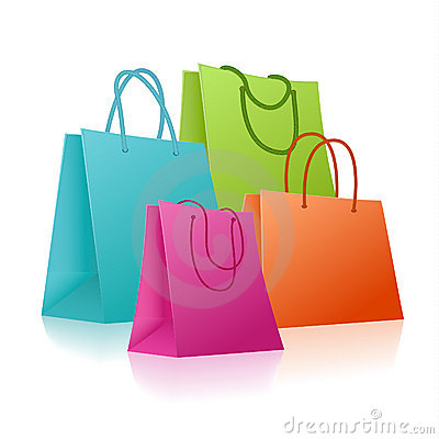 Cute Shopping Bag Clipart - Clipart Suggest