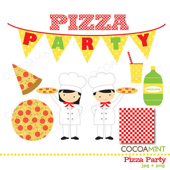 Kids Pizza Party Clipart Pizza Party Clip Art