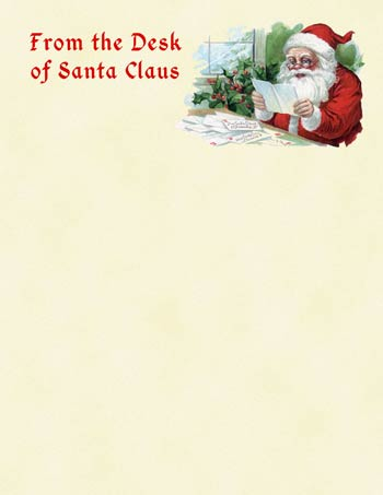 Desk Of Santa Border Clipart Clipart Suggest