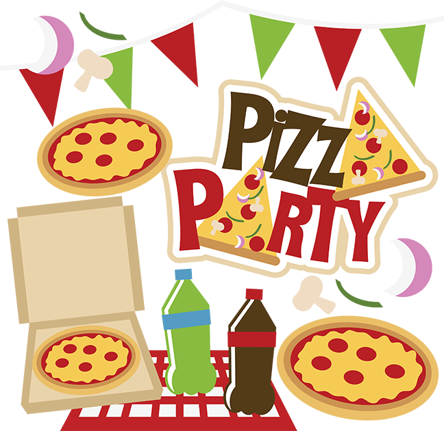 Pizza Party Clipart - Clipart Kid