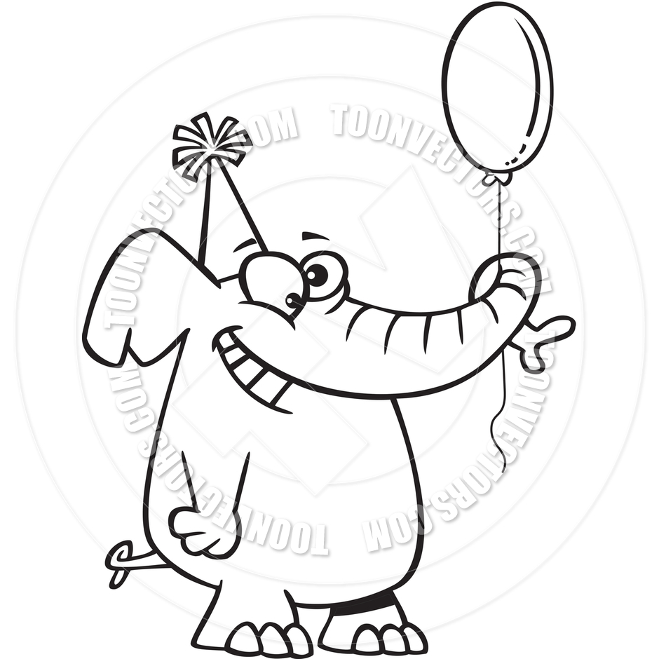 Birthday Hat Black And White Clipart - Clipart Suggest