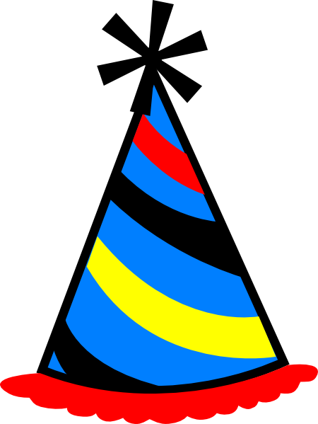 Birthday Hat Clipart - Clipart Kid