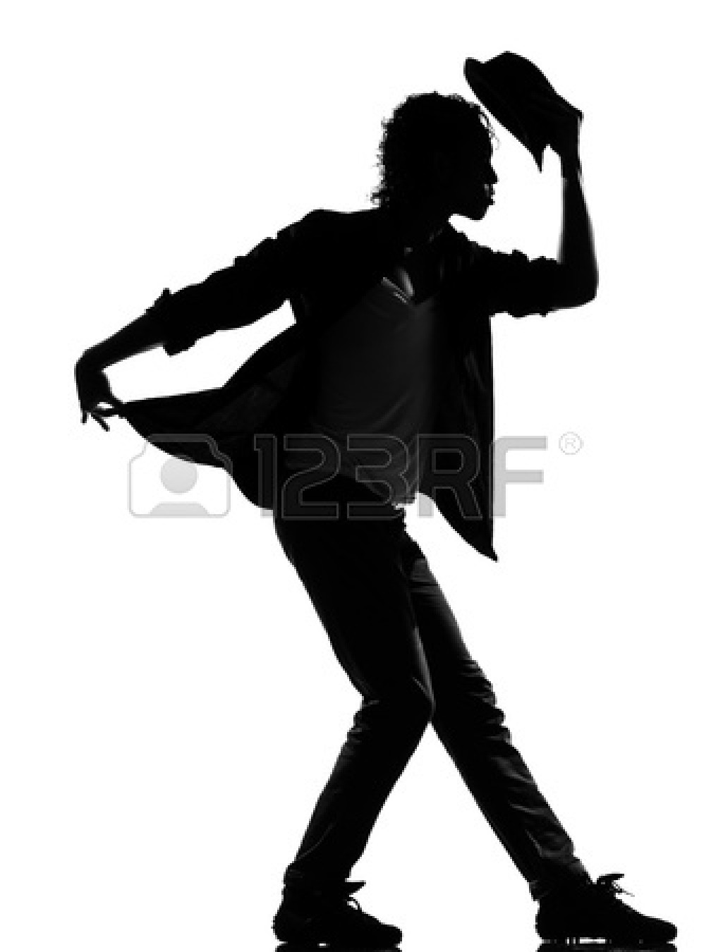 Boy Hip Hop Dancer Silhouette Boy Hip Hop Dancer Silhouette