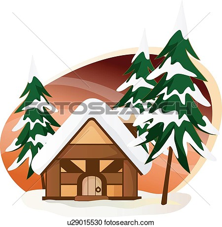 Christmas Trees House Cabin Cabins Lookout Shed Christmas Tree