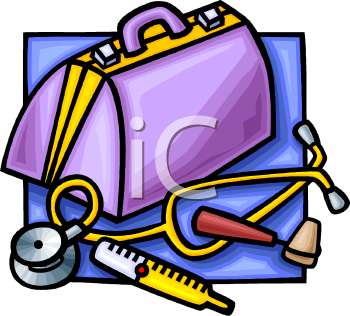 Doctor S Bag   Royalty Free Clip Art Image