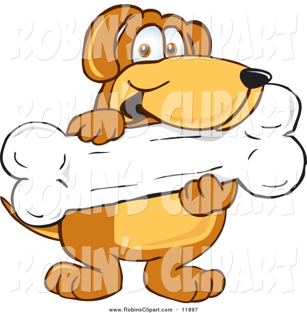 Cartoon dog treats