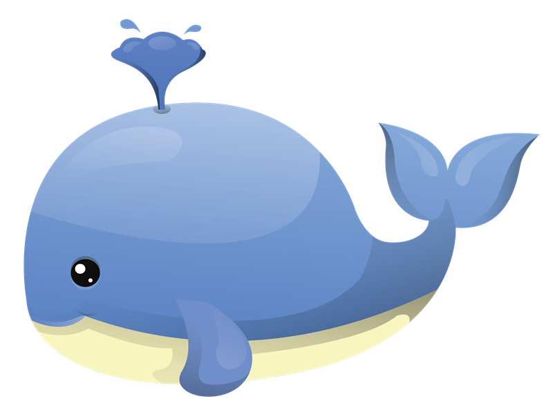 Cartoon Whale Clipart - Clipart Kid