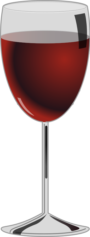 Glass Of Red Wine Clipart Vector Clip Art Online Royalty Free Design