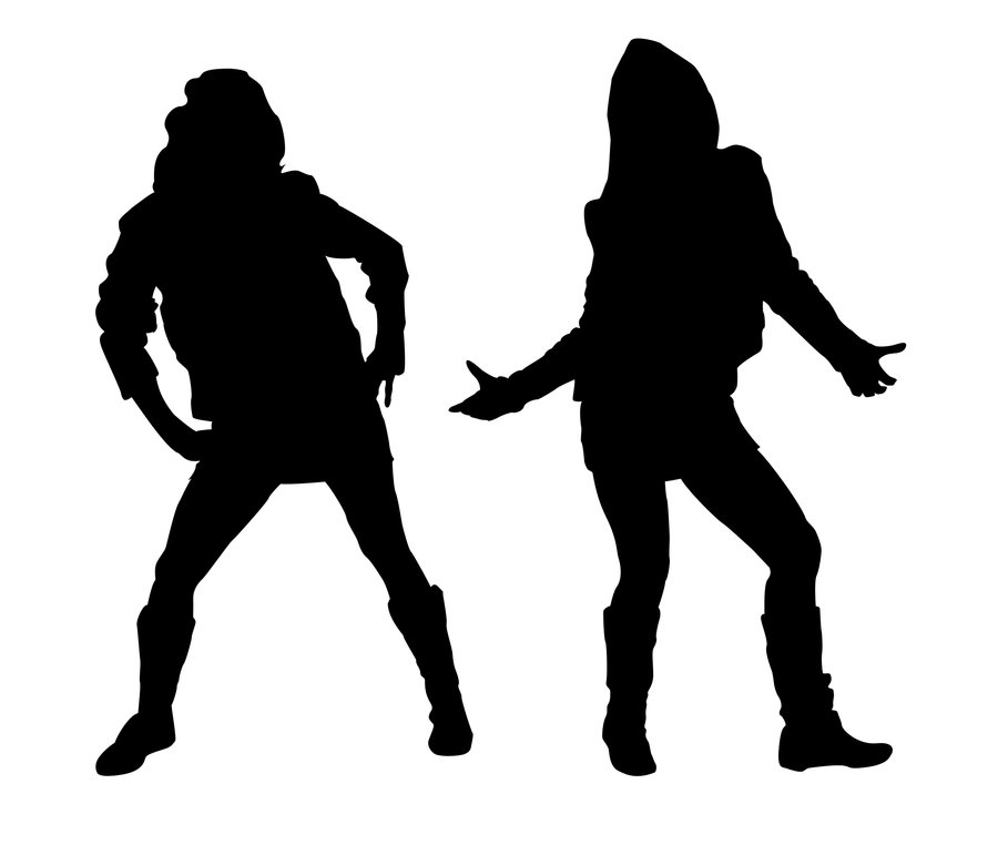 Hip Hop Girls Silhouette 1 By Kkplum On Deviantart