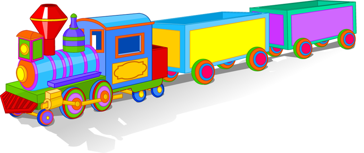 Imgs For   Toy Trains Clipart