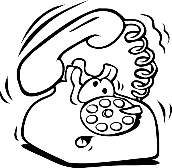 Ringing Telephone Clipart - Clipart Kid