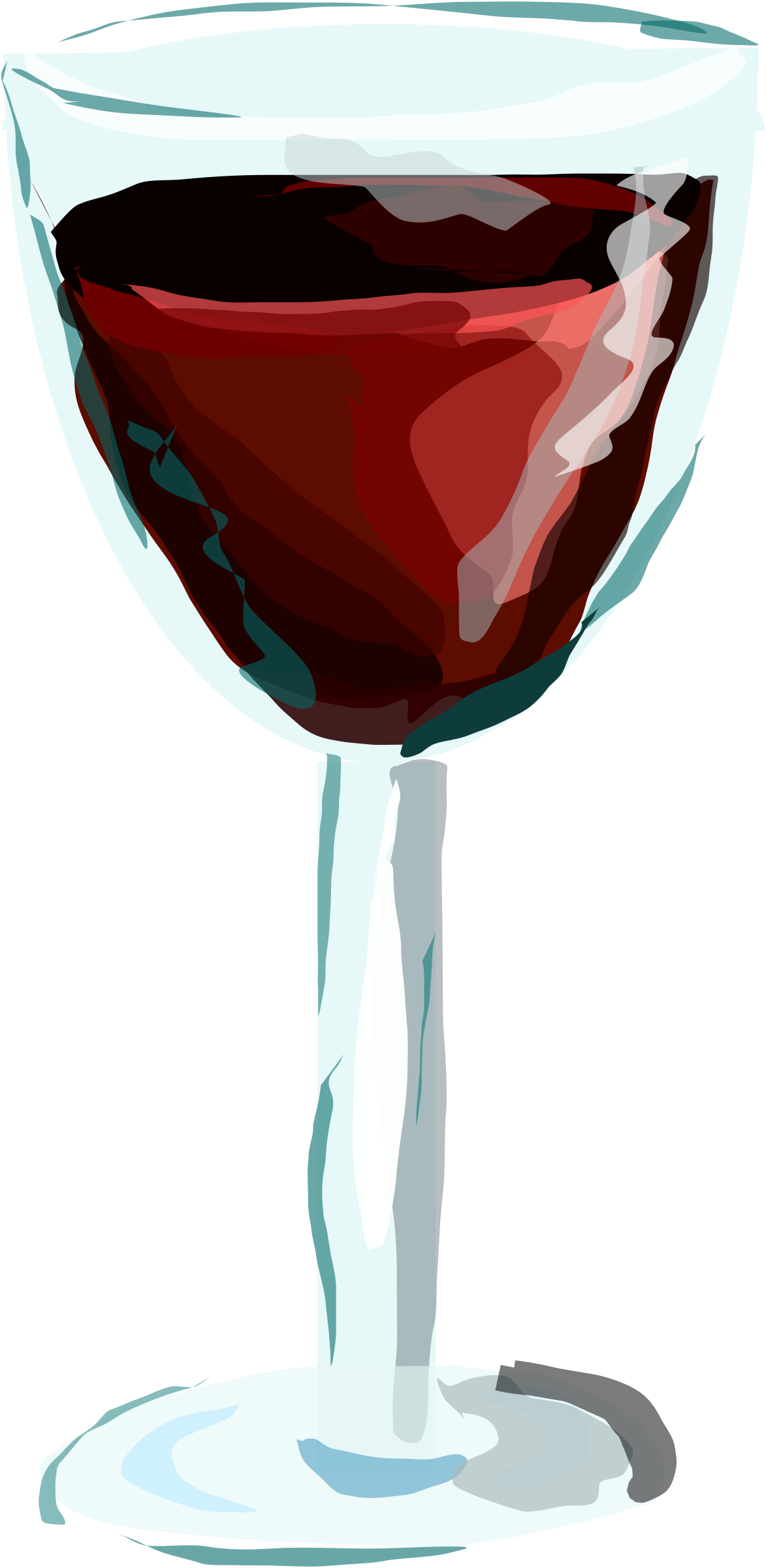Red Wine Glass By Degri