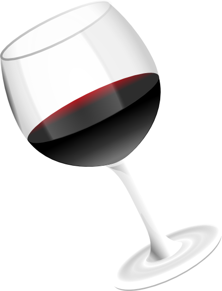 Red Wine Glass Clip Art At Clker Com   Vector Clip Art Online Royalty
