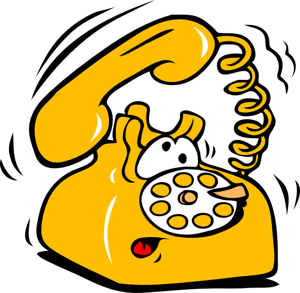 Ringing Phone Clip Art At Clker Com   Vector Clip Art Online Royalty