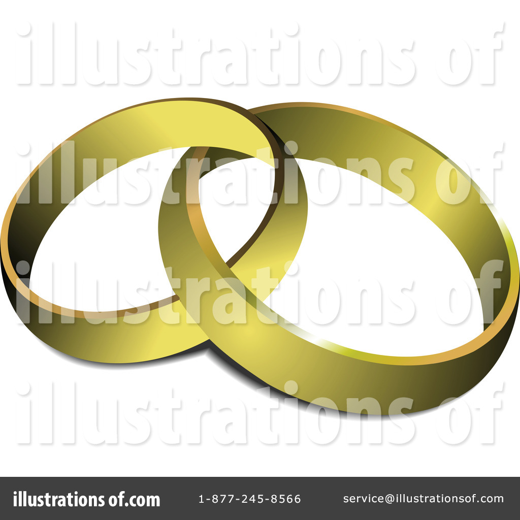 Royalty Free  Rf  Wedding Rings Clipart Illustration By Leonid   Stock