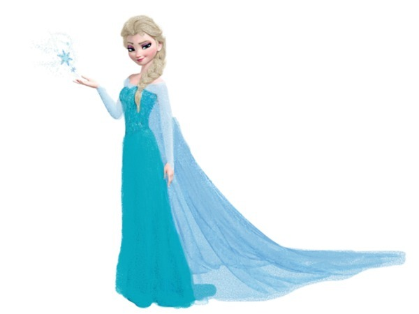 elsa frozen cute clipart clipart suggest