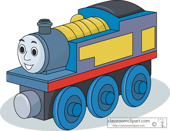 Toys   Toy Train 1713   Classroom Clipart
