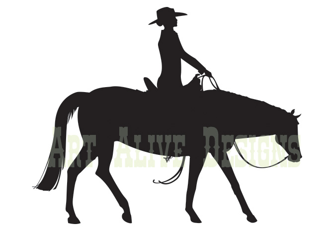 Western Pleasure Horse Clipart - Clipart Kid
