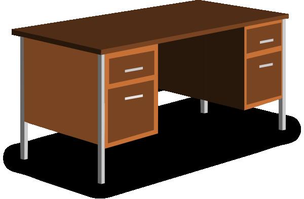 An Office Desk Clip Art At Clker Com Vector Clip Art Online Royalty