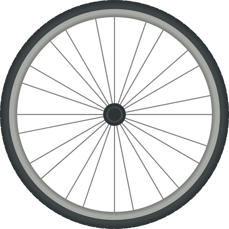 Bikewheel By Carlitos   Simple Bicycle Wheel Drawing