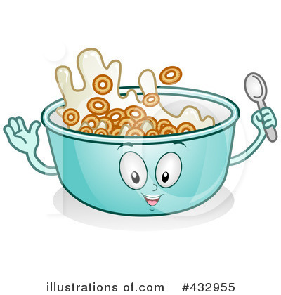 Cereal Clipart  432955   Illustration By Bnp Design Studio