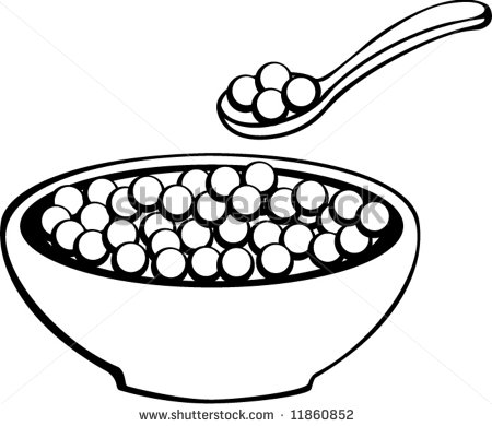 Cereal Clipart Black And White Cereal Clipart Black And White