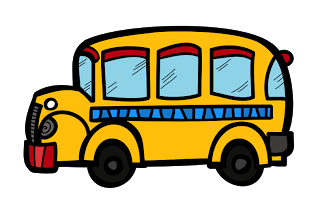 Chalkboard  Free School Bus Clipart And Kids Bundle Mega Sale