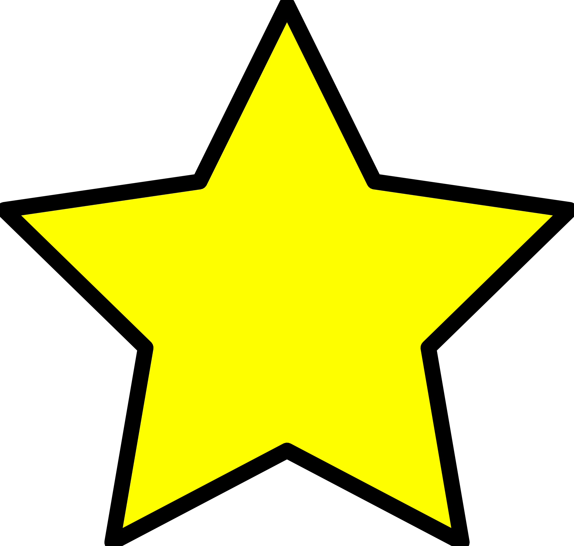 Christmas star outline clipart suggest