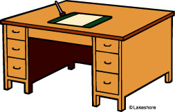 Desk Clipart Black And White   Clipart Panda   Free Clipart Images