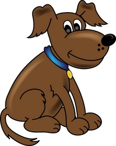 Dog Clipart Image   Cartoon Doggy Dog
