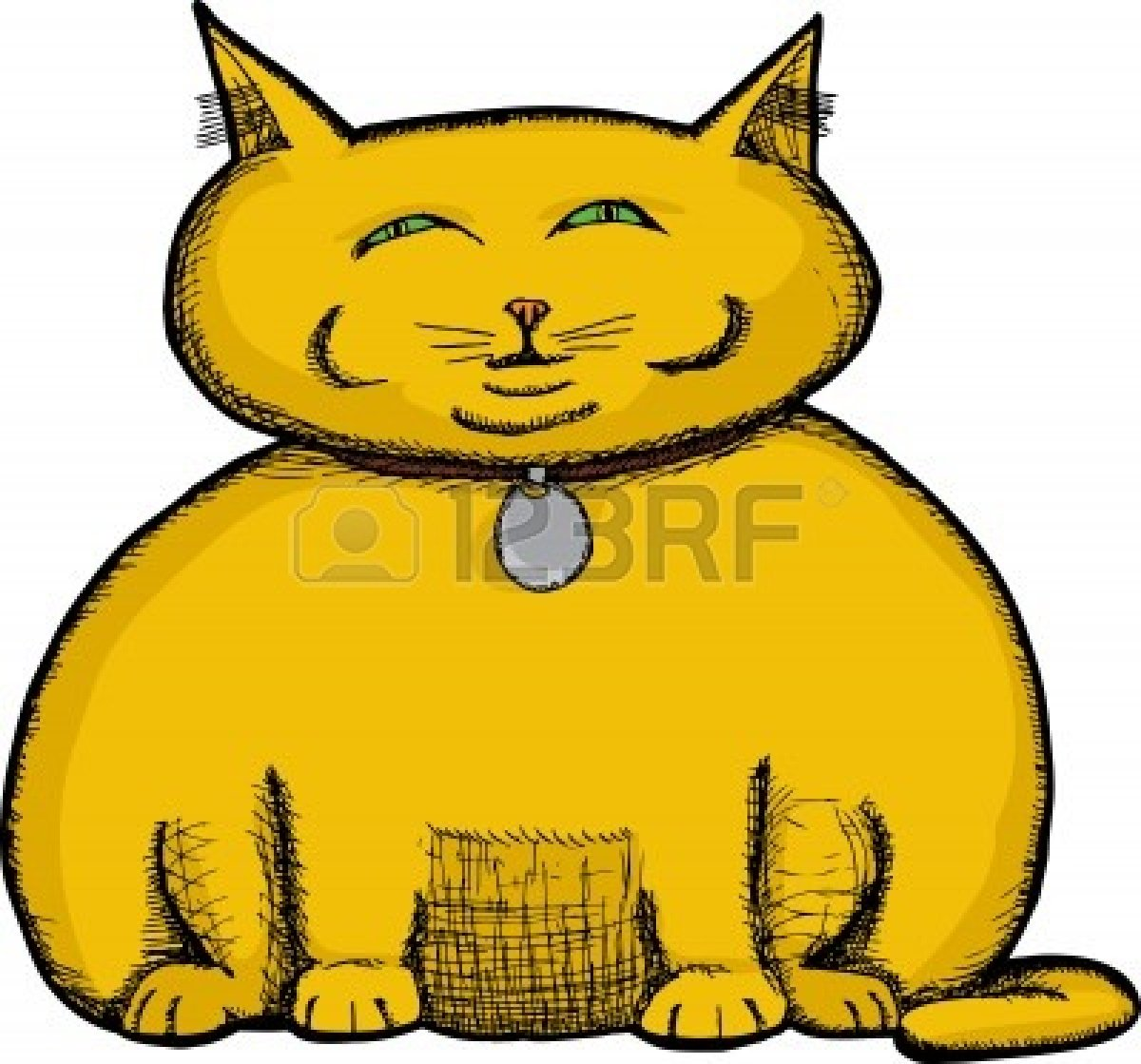 clipart fat cat - photo #39