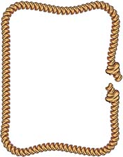 Free Rope Border Clip Art   Clipart Best