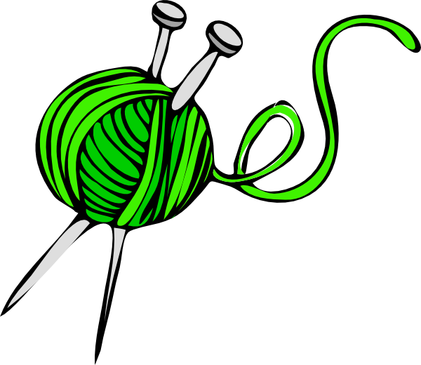 Green Yarn Clip Art At Clker Com   Vector Clip Art Online Royalty