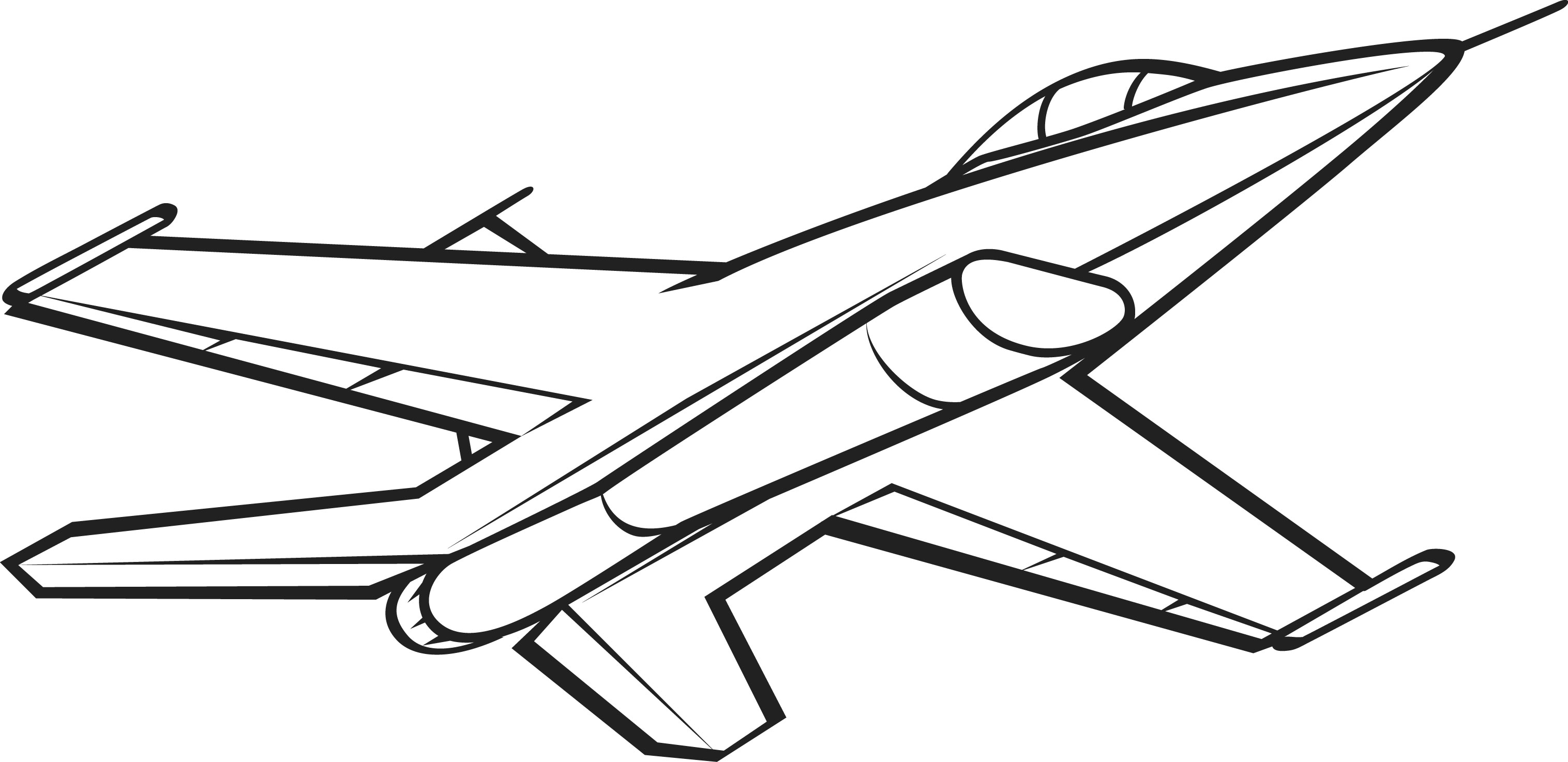 clipart of jet - photo #48