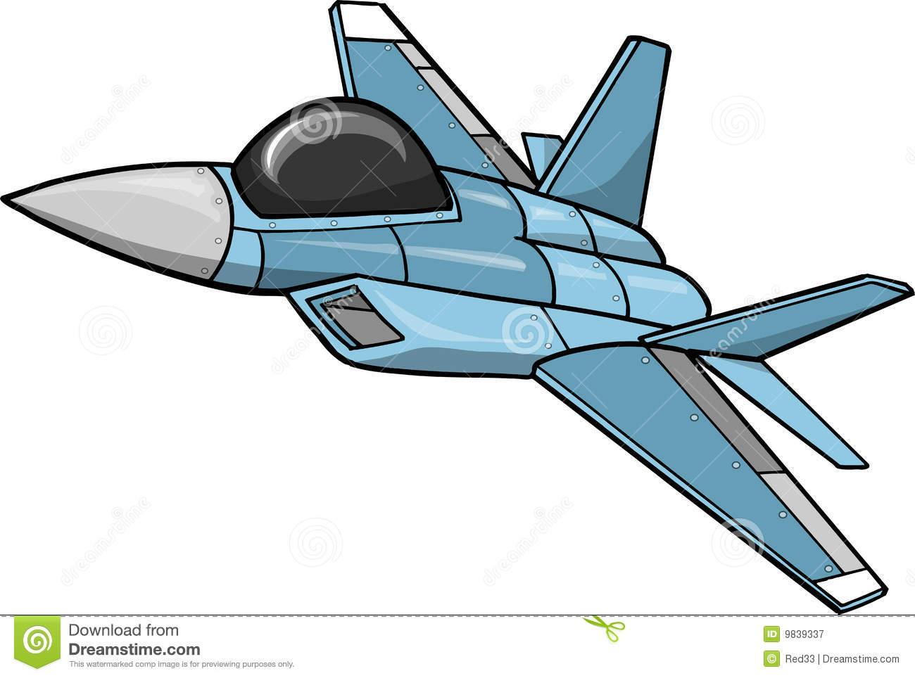 Jets Cartoon Clipart -...