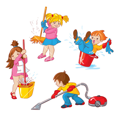Kids Clean Up Clipart Jpg